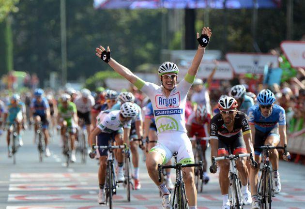 John Degenkolb wins stage, Vuelta a Espana 2012, stage 21