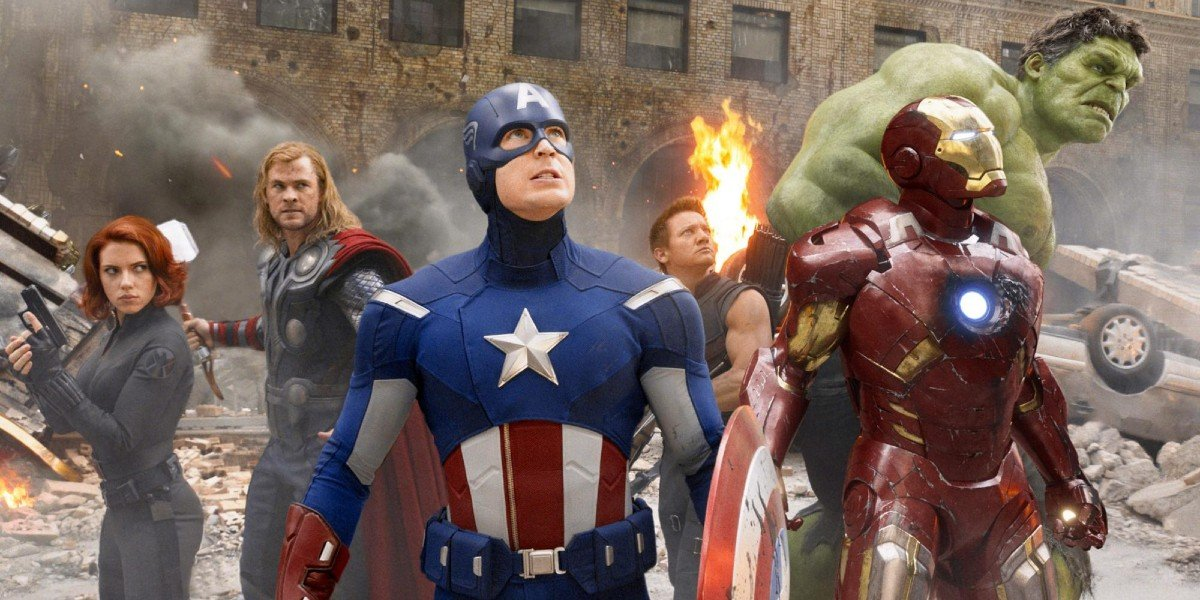 The Cast of The Avengers (2012)