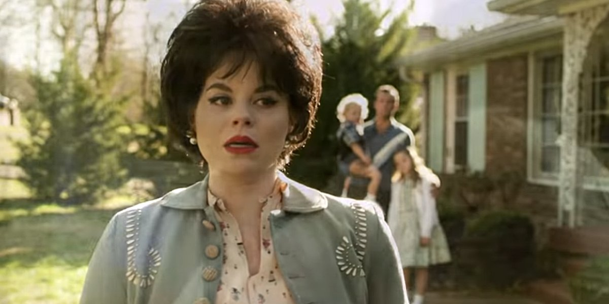 Megan Hilty as Patsy Cline in Patsy and Loretta Lifetime