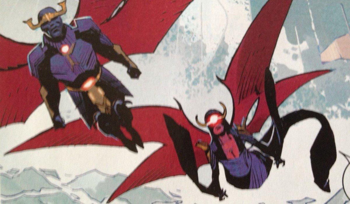 Eimen and Uriel Marvel Comics