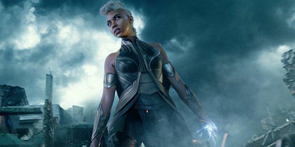 Alexandra Shipp as Storm in X-Men: Apocalypse