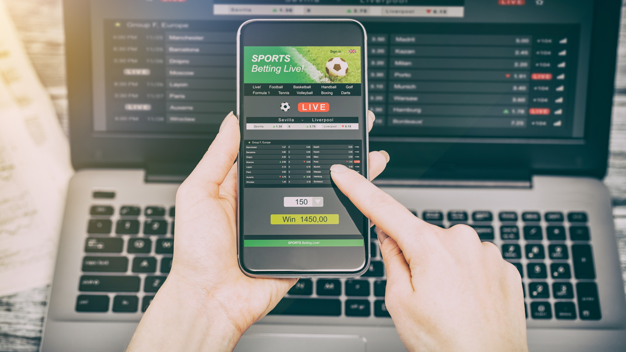 Online sports betting: is it legal and how does it work? | TechRadar