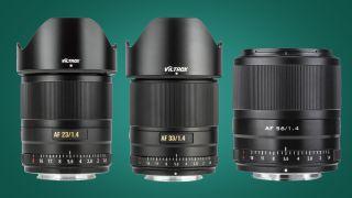 Viltrox Z-mount lenses