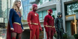 The Arrow-verse's Marc Guggenheim Talks How John Wesley Shipp Affected The Elseworlds Crossover In Exclusive Clip