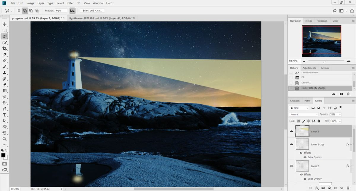 How to turn day into night in Photoshop | Creative Bloq