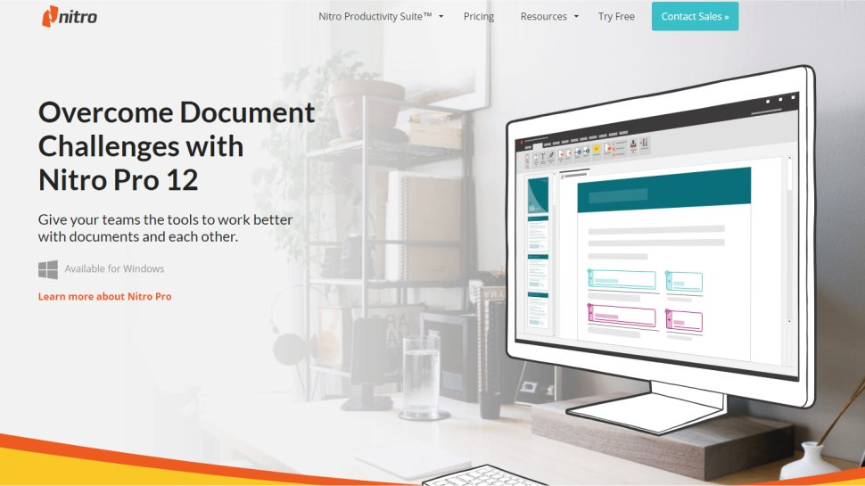 Nitro Pro PDF - A seamless solution that works on all your devices