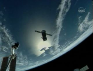 Space Station Crew Takes Short Soyuz Trip