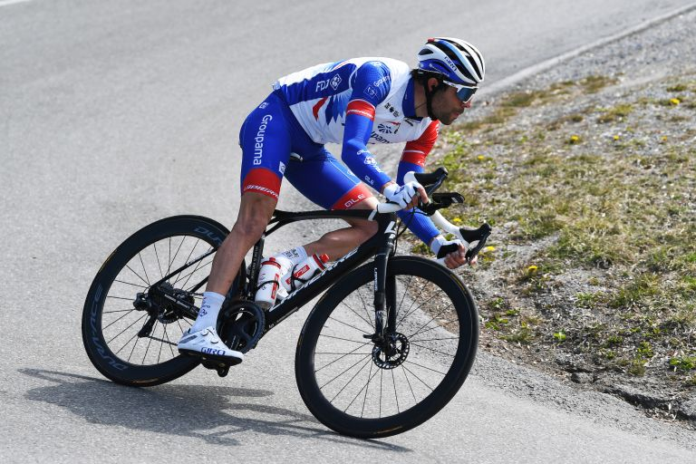 Thibaut Pinot at the Tour of the Alps 2021