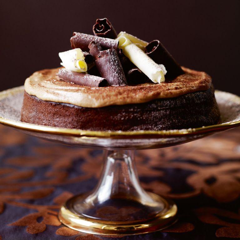 Sticky Mocha Cake with Chestnut Cream recipe-cake recipes-recipe ideas-new recipes-woman and home