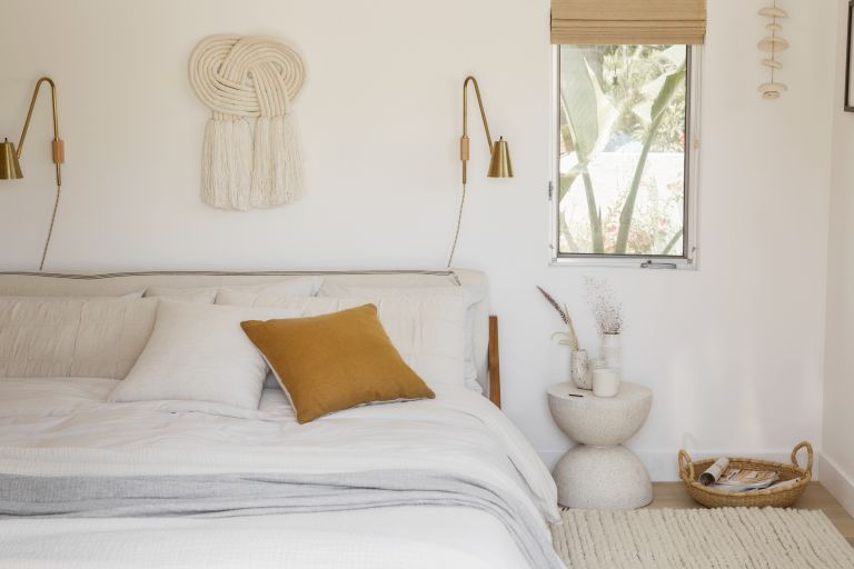 Best bed sheets Parachute percale sheets in sand