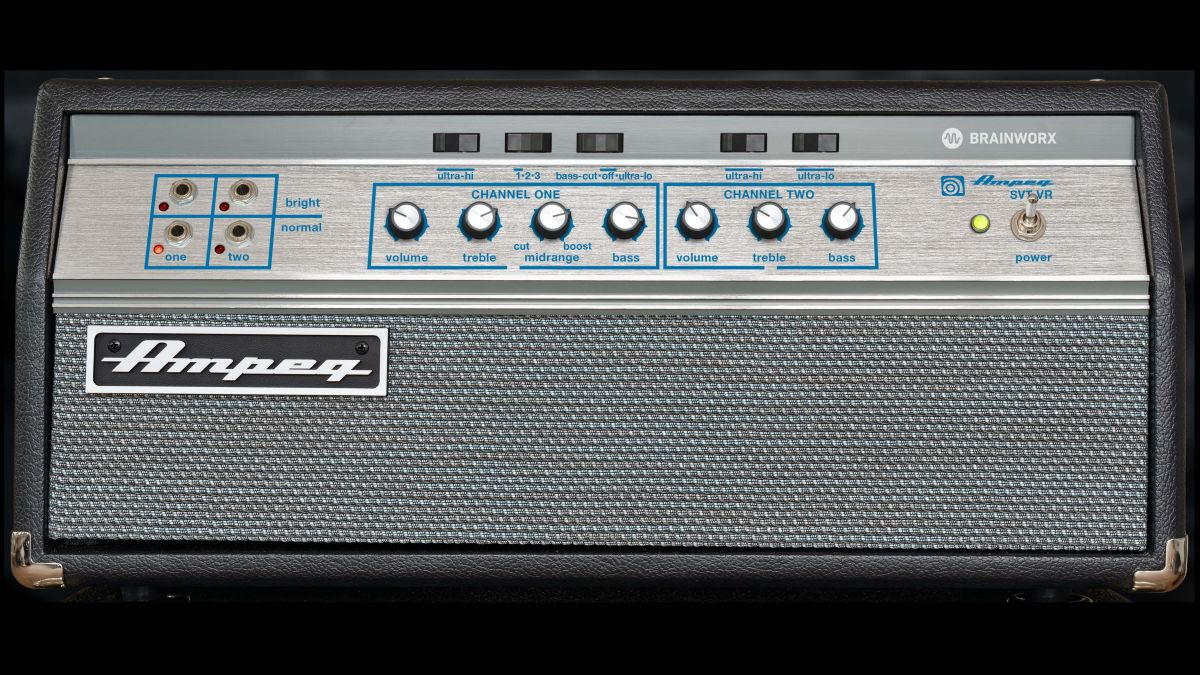 Get the Ampeg SVT-VR bass amp plugin for free instead of $99