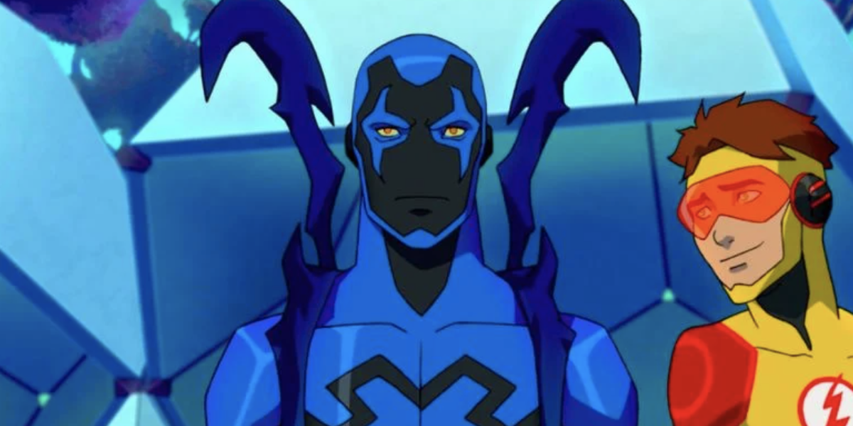 Blue Beetle in young Justice