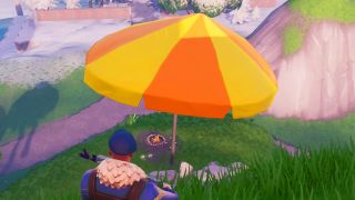 Fortnite Beach Umbrellas