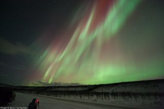 Aurora North of Poker Flats, Alaska