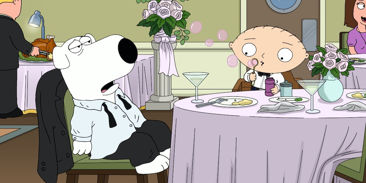 family guy stewie and brian
