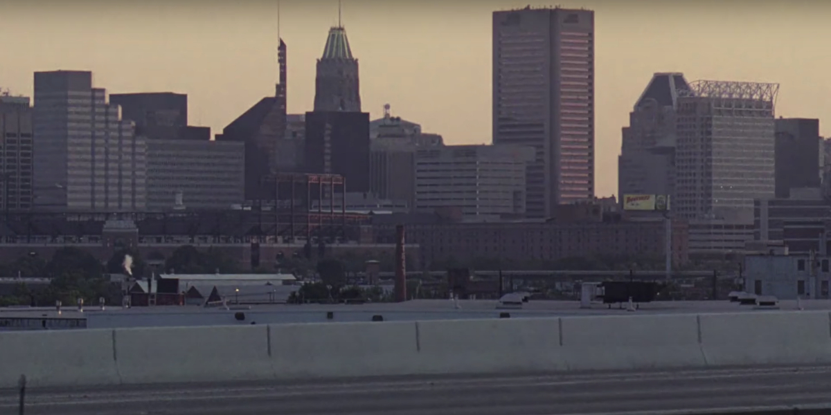 The City of Baltimore on The Wire