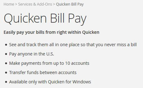 Quicken Bill Pay Review - Pros, Cons and Verdict | Top Ten Reviews