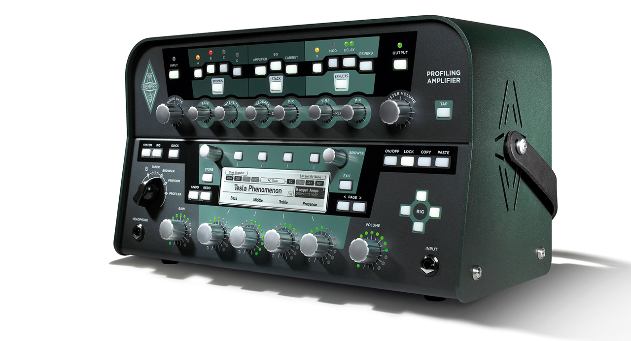 The Kemper Profiler: An Entire Amp Collection In One Digital