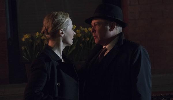 The Blacklist Katarina Rostova Laila Robins Raymond Red Reddington James Spader NBC