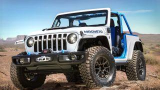 Jeep Magneto concept in desert
