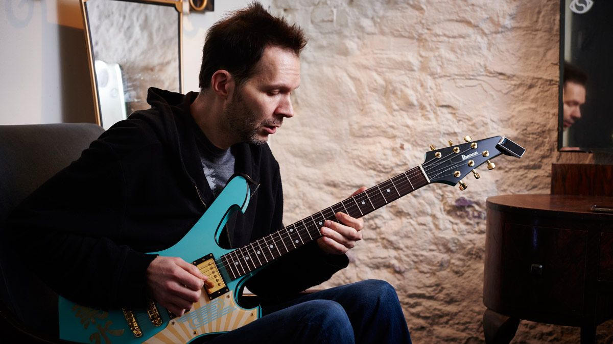 Unlock the guitar neck with these three-note-per-string shapes