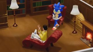 Sonic the Hedgehog in Two Point Hospital