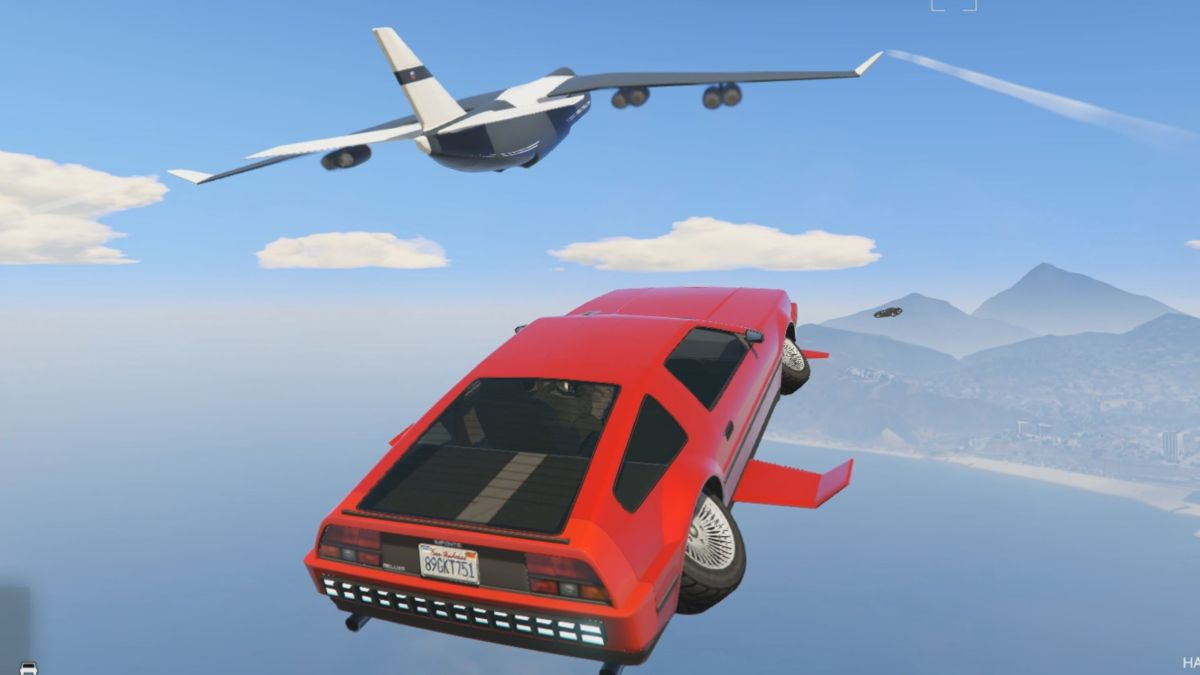 Flying cars are rad as hell in GTA Online's Doomsday Heist | PC Gamer