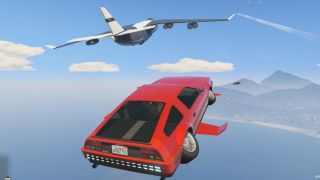 Flying cars are rad as hell in GTA Online's Doomsday Heist