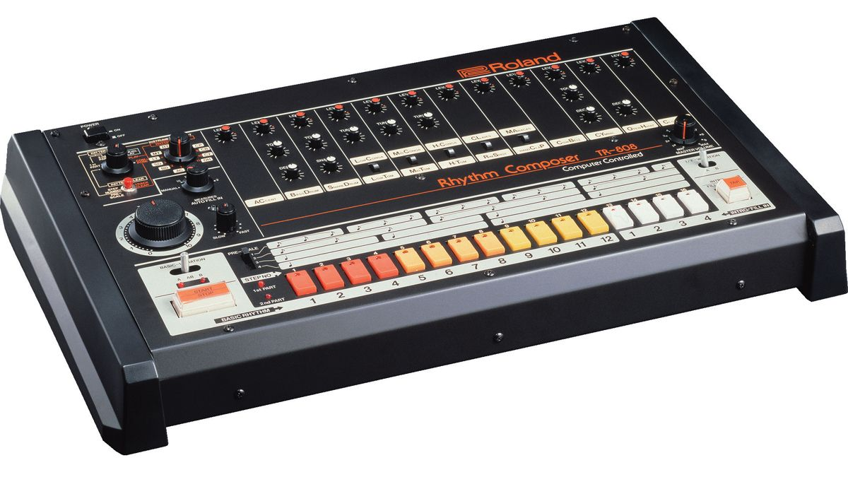 Free hybrid drum samples: 324 Roland 808 kick, snare, clap, tom and percussion hits