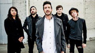Of Mice & Men with Austin Carlile, centre