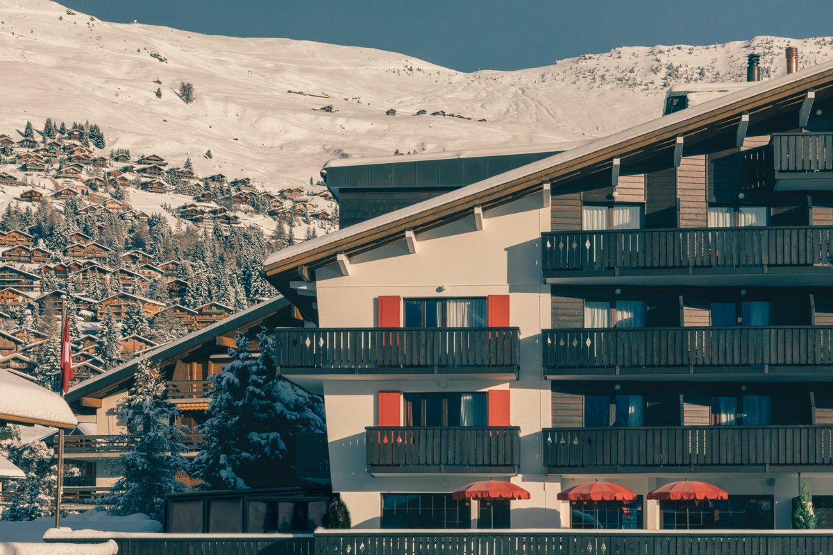 THE SKI HOTEL THAT'S AS COOL INSIDE AS IT IS OUTSIDE
