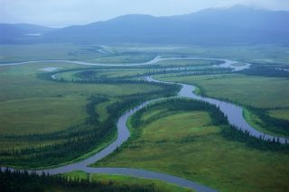 Proposed location of Pebble Mine, Bristol Bay threats