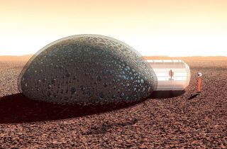 Sfero Bubble House for Mars