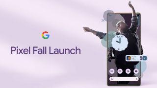 Google Pixel 6, markedsføringsbilde for lanseringsevenementet