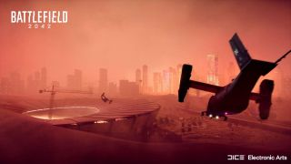 Battlefield 2042 helicopters and sand