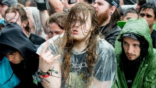 Fans brave the rain at Download 2016