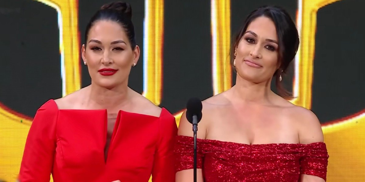Nikki and Brie Bella WWE Hall Of Fame speech