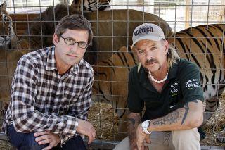 TV tonight Louis Theroux: Shooting Joe Exotic