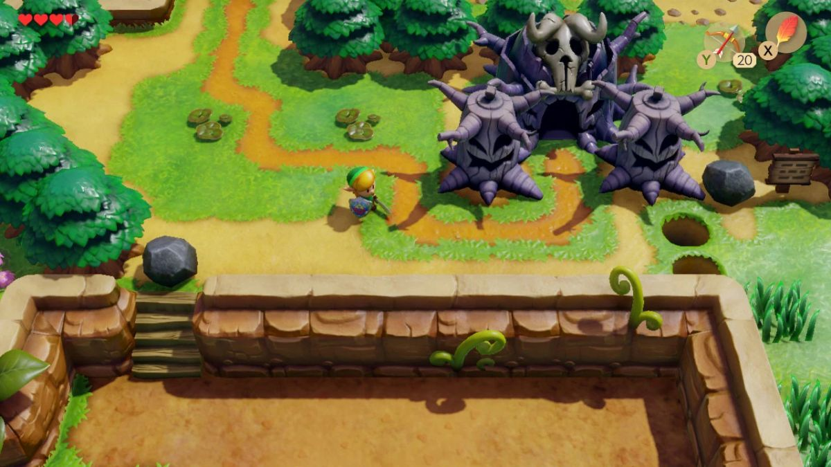 This Link's Awakening mod removes that blur effect around the screen