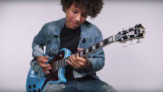 D'Angelico Brandon Niederauer Atlantic electric guitar