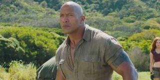 Dwayne Johnson as Dr. Smulder Bravestone in Jumanji: Welcome to the Jungl