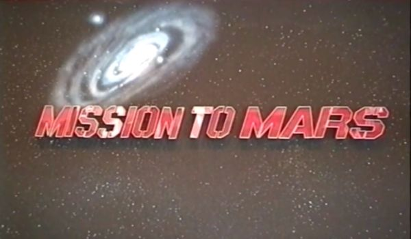 Mission to Mars sign
