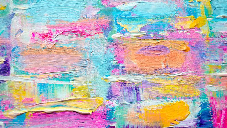 layered and textured painting by getty images