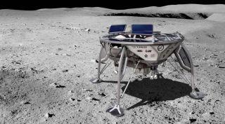 SpaceIL Google Lunar X Prize entry art