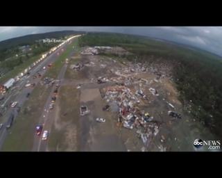 arkansas tornado path
