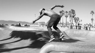 A picture of a skater