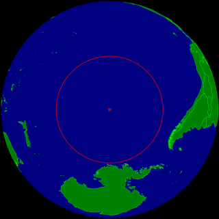 "The ""oceanic pole of inaccessibility,"" called Point Nemo."