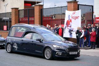Roger Hunt funeral