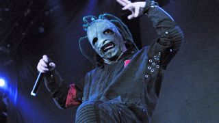 Slipknot's Corey Taylor on stage in 2001