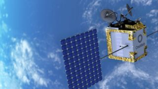 Astroscale cooperates with megaconstellation operator OneWeb on the development of commercial space debris removal technology.